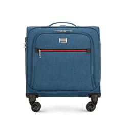 Táska színes cipzárral, kék, 56-3S-505-91, Fénykép 1