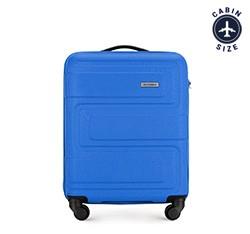 Kis bőrönd dombornyomott, kék, 56-3A-631-95, Fénykép 1
