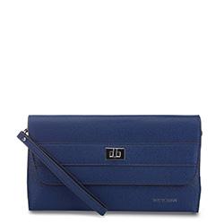 női bőr estélyi táska, kék, 91-4E-623-N, Fénykép 1