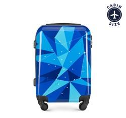 ABS kis kabinbőrönd, kék, 56-3A-641-90, Fénykép 1