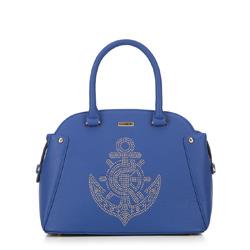 Női táska, kék, 87-4Y-766-N, Fénykép 1