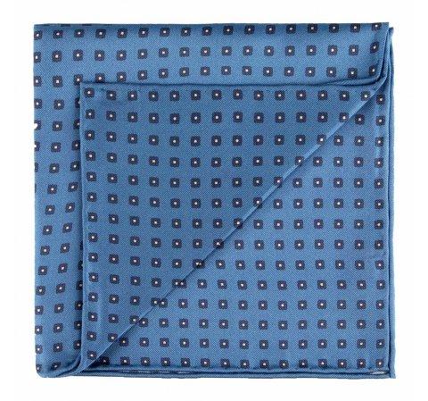 Díszzsebkendő, kék, 89-7P-001-X6, Fénykép 1