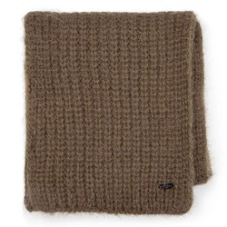 Dámská šála, khaki, 87-7F-016-Z, Obrázek 1