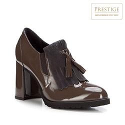 Dámské boty, khaki, 87-D-103-1-38, Obrázek 1