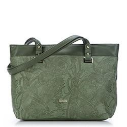 Einkaufstasche, khaki, 87-4Y-552-Z, Bild 1