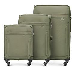 Kofferset 3-teilig, khaki, V25-3S-26S-40, Bild 1