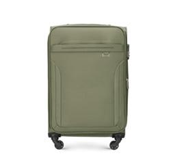Mittelgroßer Koffer, khaki, V25-3S-262-40, Bild 1