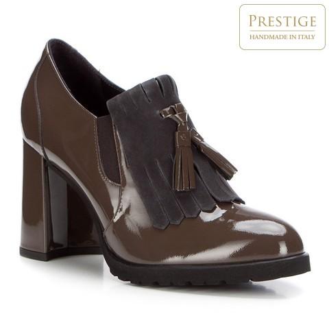 Női cipő, khaki, 87-D-103-1-35, Fénykép 1