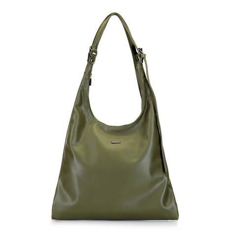 Női táska hosszú vállpánttal, khaki, 92-4Y-607-Z, Fénykép 1