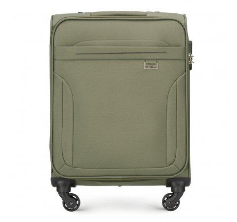 Kabinbőrönd  varrással, khaki, V25-3S-261-40, Fénykép 1