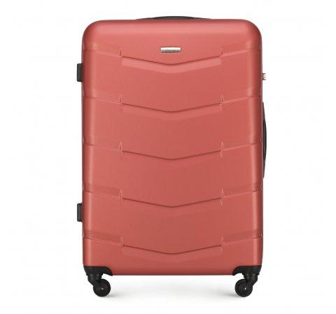Большой чемодан, кирпичный, 56-3A-403-66, Фотография 1