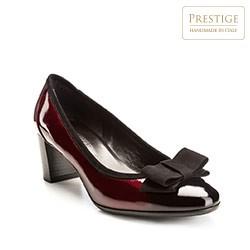 Schuhe, kirschrot, 85-D-101-2-35, Bild 1