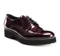 Schuhe, kirschrot, 85-D-110-2-38, Bild 1