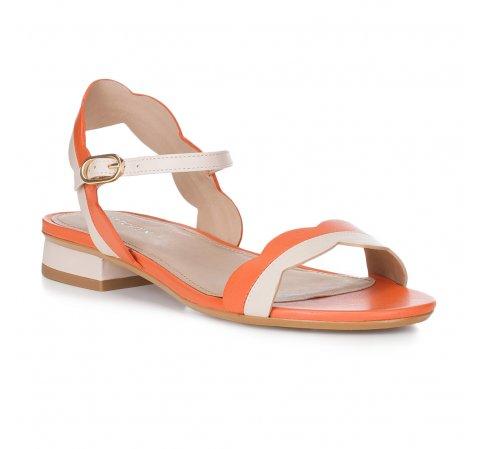 Dámské boty, korálová, 88-D-559-K-35, Obrázek 1