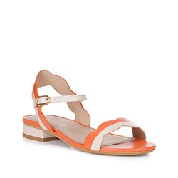 Dámské sandály, korálová, 88-D-559-K-41, Obrázek 1
