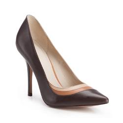 Туфли, коричнево - бежевый, 86-D-551-4-36, Фотография 1