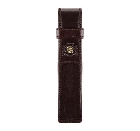 Кожаный футляр для ручки, коричневый, 39-2-100-1, Фотография 1