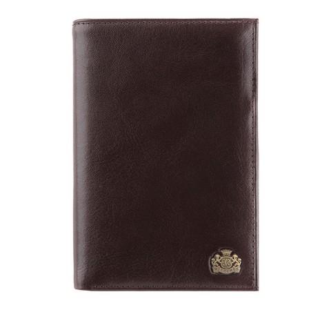 Большой мужской кожаный кошелек, коричневый, 10-1-033-1, Фотография 1