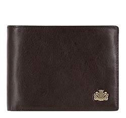 Мужской раскладывающийся кожаный кошелек, коричневый, 10-1-046-4, Фотография 1