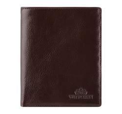 Мужской кожаный кошелек, коричневый, 21-1-221-4, Фотография 1