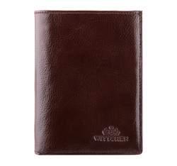 Кожаный кошелек мужской практичный, коричневый, 21-1-265-4, Фотография 1
