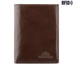 Мужской кожаный практичный кошелек, коричневый, 21-1-265-L4, Фотография 1