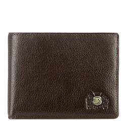 Кожаный мужской кошелек, коричневый, 22-1-173-4, Фотография 1