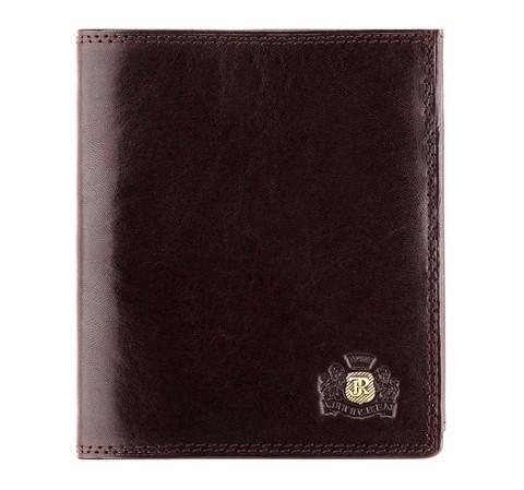 Универсальный кожаный кошелек, коричневый, 39-1-139-3, Фотография 1