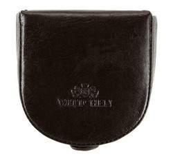 Кожаный кошелек в форме подковы, коричневый, 21-2-156-4, Фотография 1