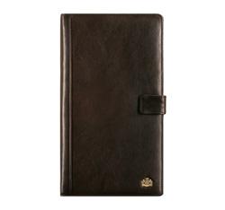 Кожаный органайзер для документов с зажимом, коричневый, 10-2-005-4, Фотография 1