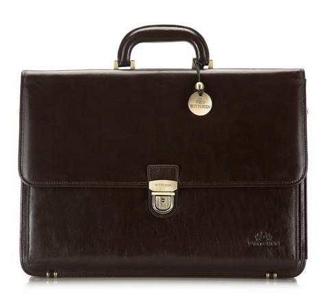 Портфель, коричневый, 21-3-025-4, Фотография 1