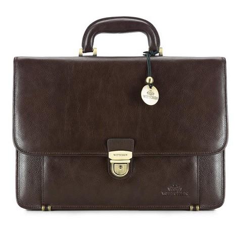 Портфель, коричневый, 21-3-027-4, Фотография 1