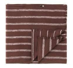 Шарф мужской, коричневый, AP-7-043-17, Фотография 1