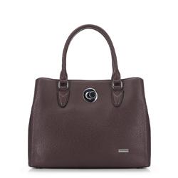 Женская сумка-шоппер, коричневый, 91-4Y-610-4, Фотография 1