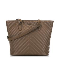 Женская сумка-шоппер, коричневый, 91-4Y-606-4, Фотография 1
