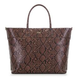 Женская сумка-шоппер, коричневый, 91-4Y-609-4, Фотография 1