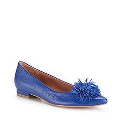 Damenschuhe, kornblumenblau, 86-D-560-7-37, Bild 1