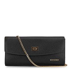 Dámská kabelka, černo-zlatá, 92-4E-661-1, Obrázek 1