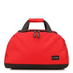 Маленькая дорожная сумка basic, красно-черный, 56-3S-926-30, Фотография 1