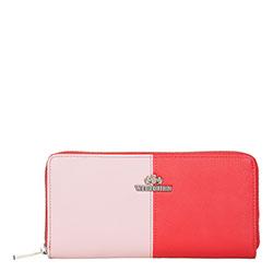 Кошелек, красно - розовый, 13-1-482-3P, Фотография 1