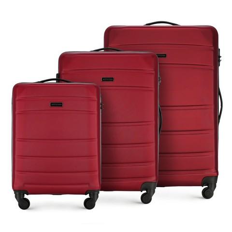 Комлект чемоданов, красный, 56-3A-65S-01, Фотография 1