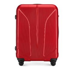 Большой чемодан, красный, 56-3P-813-30, Фотография 1