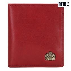 Кожаная кредитница, красный, 10-2-291-3L, Фотография 1