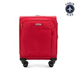 Чемодан ручная кладь, красный, 56-3S-521-30, Фотография 1