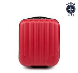 Чемодан ручная кладь, красный, V25-10-232-35, Фотография 1
