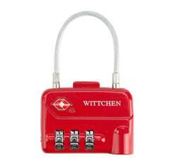 Кодовый замок, красный, 56-30-024-30, Фотография 1