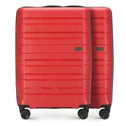 Комплект (2x средний чемодан), красный, 56-3T-752_2-30, Фотография 1