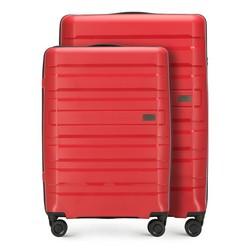 Комплект (Большой + средний чемодан), красный, 56-3T-752_3-30, Фотография 1