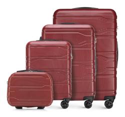 Комплект чемоданов, красный, 56-3P-98K-31, Фотография 1