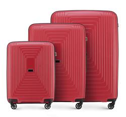 Комплект чемоданов, красный, 56-3T-78S-30, Фотография 1